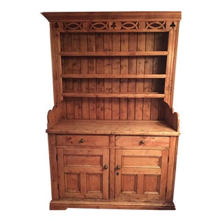 Antique Irish Pine Hutch