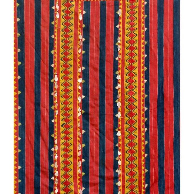 Vintage Philippine Kalinga Tribal Blanket - Image 3 of 3