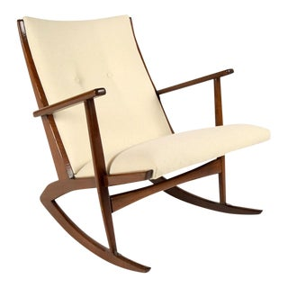 Soren Georg Jensen Boomerang Rocking Chair