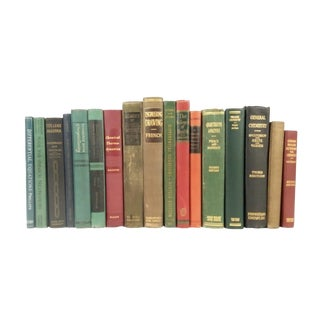 Vintage Technical & Scientific Book Collection - Set of 17
