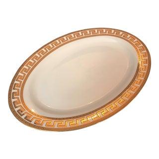 Porcelain Gold Rimmed Platter