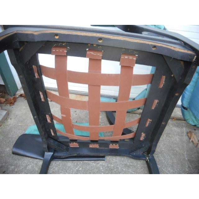James Mont Style Asian Lounge Chairs - A Pair - Image 10 of 11