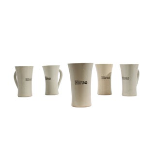 Antique Hires Root Beer Mugs- Set of 5