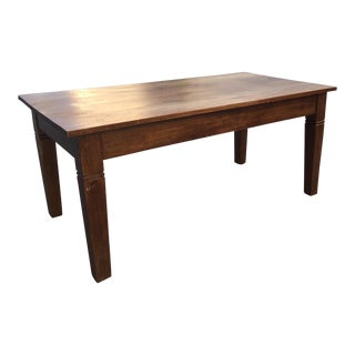 Amish Made Solid Wood Dining Table
