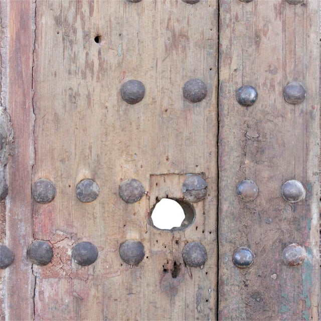 Antique Moroccan Fortress Door - Image 6 of 7
