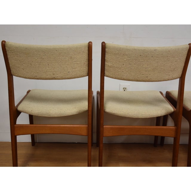 Teak Dining Chairs - Set of 4 - Image 8 of 11