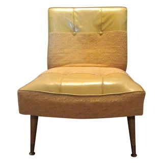 Mid-Century Modern Kroehler Slipper Chair