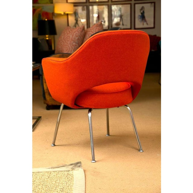 Mid-Century 1960s Set of Six Saarinen Executive Lounge Chairs - Image 3 of 8