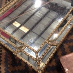 Image of Hollywood Regency Mirrored Coffee Table