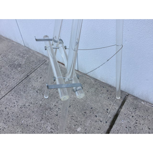 1970's Modern Lucite Easel - Image 5 of 10