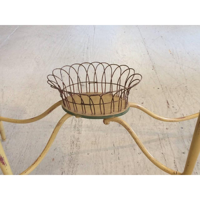 Hand-Painted French Demilune Console - Image 5 of 8