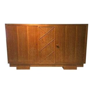 Cerused Oak Sideboard Attributed to Jacques Adnet