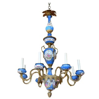 French Chandelier in the Sevres Style