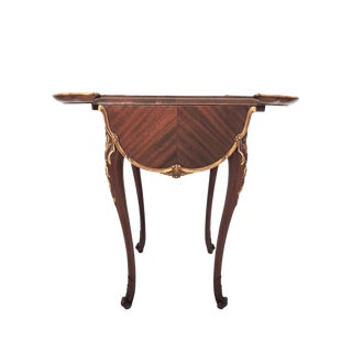 French Style Drop Leaf Side Table