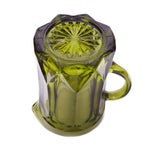 Image of Vintage Green Glass Jug