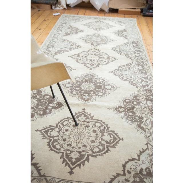 "Distressed Oushak Runner - 5' X 12'10"" - Image 8 of 10"