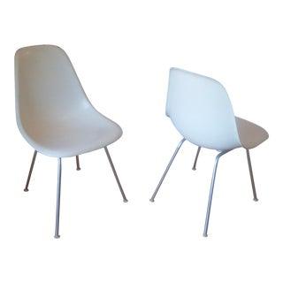 Herman Miller Mid Century Modern Fiberglass Chairs - a Pair