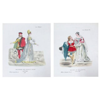 C.1799 Romeo and Juliet Prints- A Pair