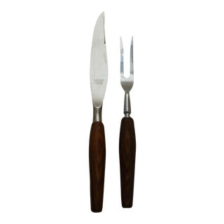 Sheffield England Carving Tools - A Pair