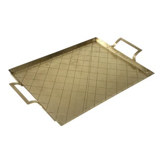 Tommi Parzinger Style Brass Tray