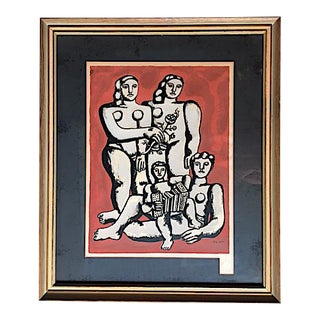 'The Three Sisters on Red' Seriograph