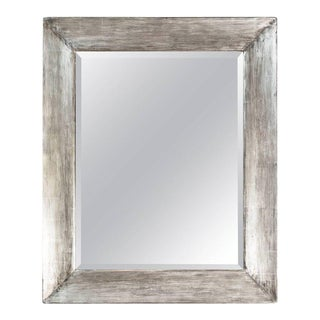 Paul Marra Distressed Silvered Frame Mirror