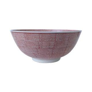 Vintage Asian Hand Decorated Porcelain Bowl