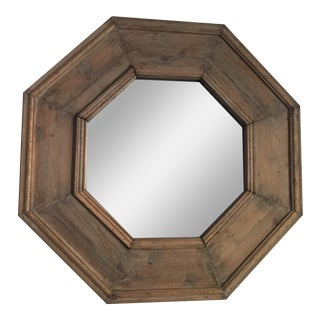 Restoration Hardware Octagon Wood Mirror