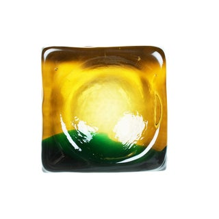 Molded Murano Glass Ashtray Dish