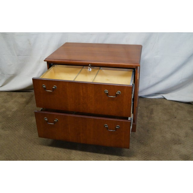 Image of Traditional Cherry File Cabinet