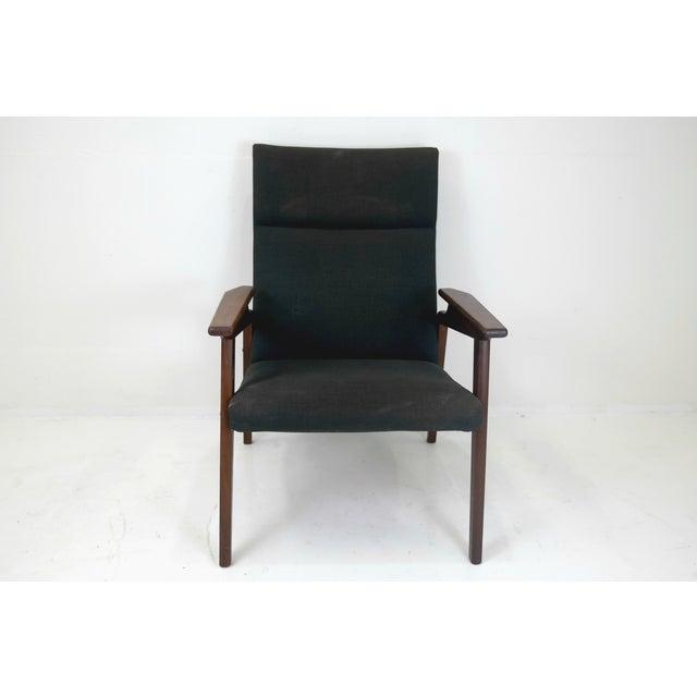 Image of Mid Century Danish Easy Chair in Teak 1950's