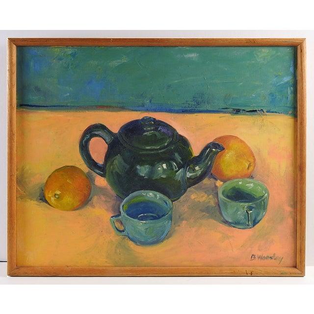 Image of Tea & Oranges Still Life by Brigitte Woosley