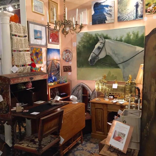 Tina Duryea 'Classic Grey' Horse Oil Painting - Image 2 of 4