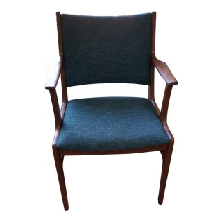 Mid-Century D-Scan Teak Side Chair