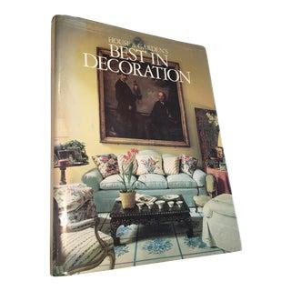 1987 'House & Garden: Best in Decoration' Book