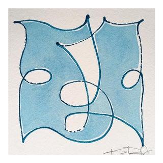 "Original Kayce Hughes - ""Best Friends Blue #1"""