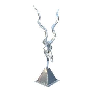 Polished Aluminum Sculpture by Arthur Court