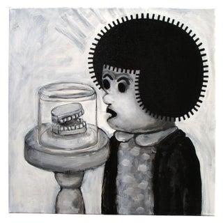 """""""Teeth"""" Pop Art Cartoon by Junior Martin"""