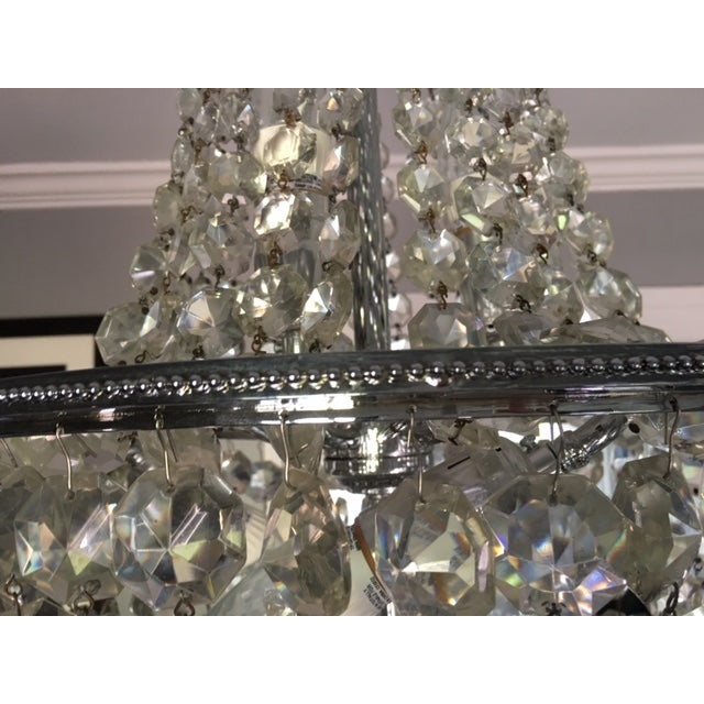 1900s Empire Crystal Chandelier - Image 7 of 11
