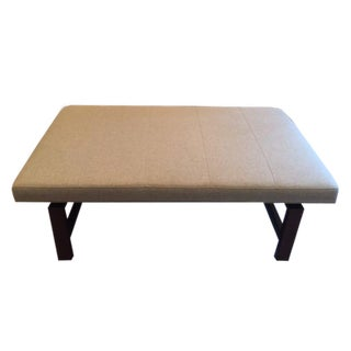 Vanguard Tiburon Rectangle Bench in Jarrett Linen