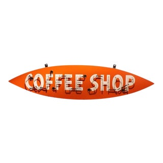 "1950s Neon Sign ""Coffee Shop"""
