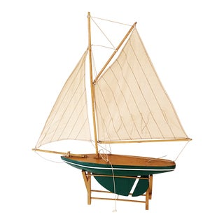 Sail Boat Model on Stand