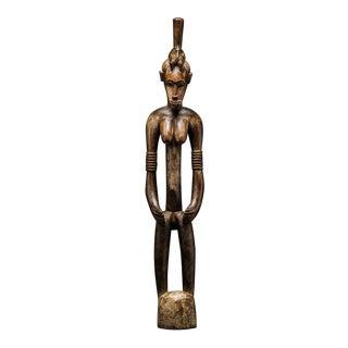 Female Senufo Wooden Pombilele Rhythm Pounder