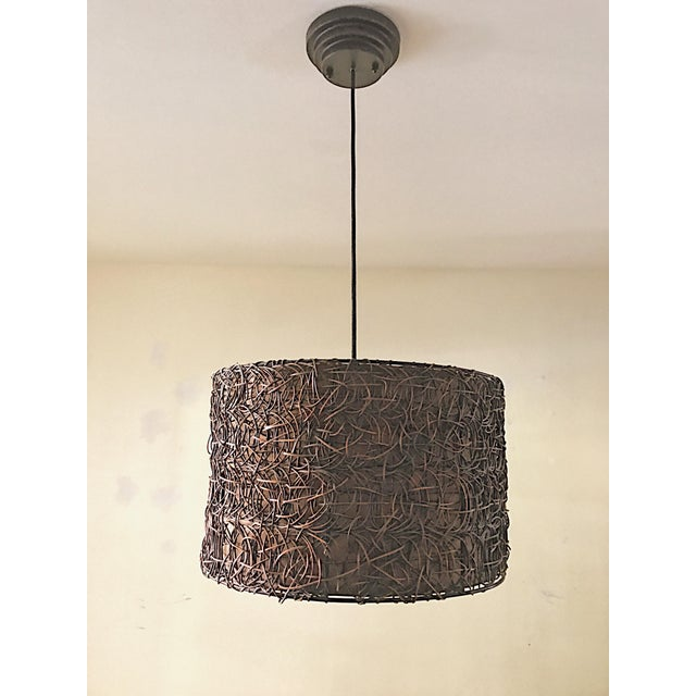 Naturo Rattan Chandelier - Image 3 of 5