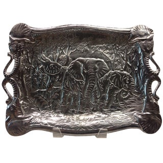 Arthur Court Elephant Serving Tray