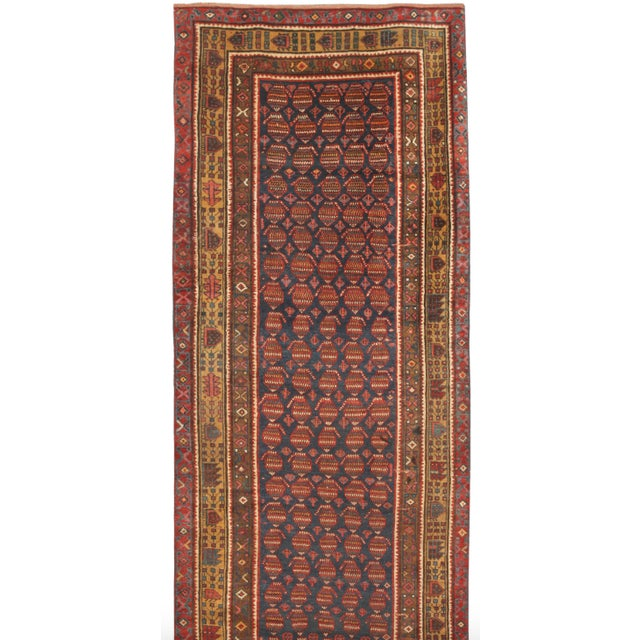 Image of Antique 19th Century Persian Kurdish Runner