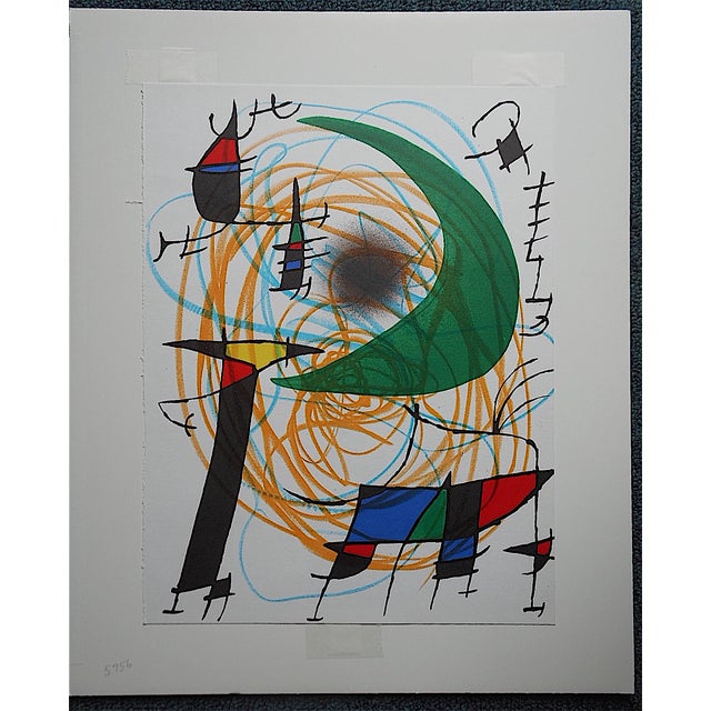 Vintage Ltd. Ed. Joan Miro Lithograph - Image 3 of 4