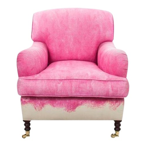 Image of George Smith Pink Signature Armchair