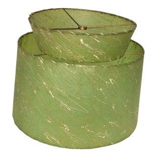 Atomic Green Fiberglass 2 Tier Lampshade