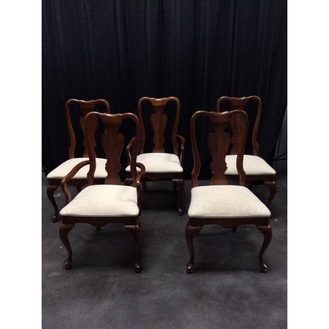 Chippendale Style Mahogany Chairs - 5 - Image 2 of 6